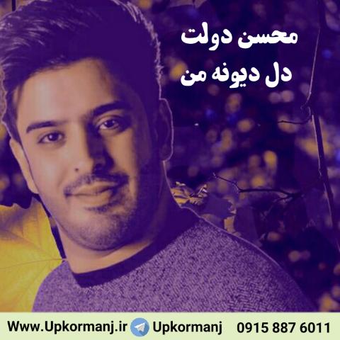 دانلود آهنگ جدید محسن دولت به نام دل دیوونه من